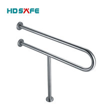 SUS304 grade high level stainless steel handicap toilet grab bars