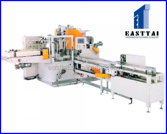 Embossing Drawing Type facial paper tissue folding machine