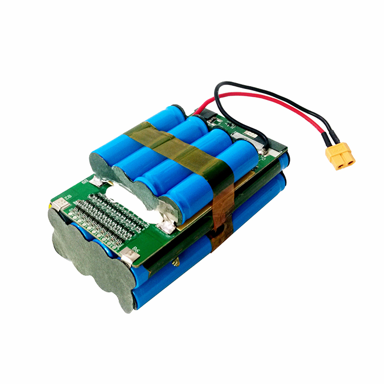 10S2P 36V rechargeable li-ion battery pack with PCM for balancing scooter