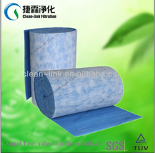 Customizable and economical pre filter media synthetic fiber filter roll (manufacturer)