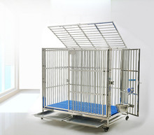 suguan factory direct home & garden stainless steel dog cage / pet dog house / animal kennel crate