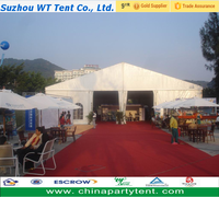 Outdoor furnitures clear span event/ exhibition/ trade show marquee party tent for sale exported to africa
