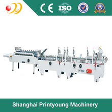 ZH-800A Pre-folding Crash-lock Bottom Automatic fold box glue machine