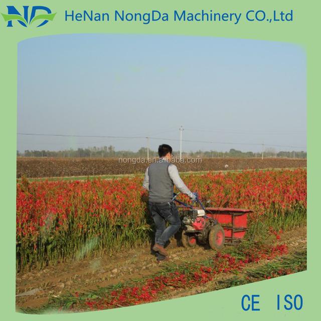 Agricultural machine corn harvester
