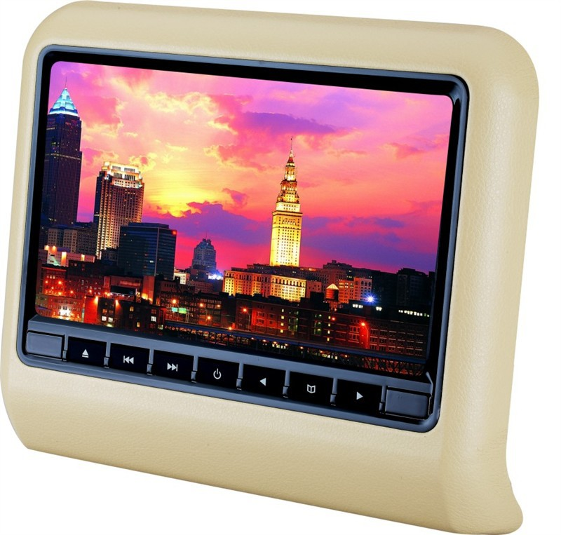 9 inch high definit headrest car dvd player