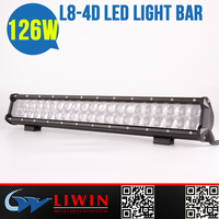 New Original Design 126w offroad led light bar 20inch brake and turning light for bulbs