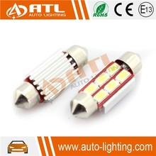 ATL Factory price 3W 12-14.5V car led dome lamp , CANBUS car led dome light, non-polarity car led dome light room lamp