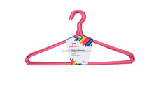 Meifeng Wholesale Colorful Plastic Coated Wire Clothes Hangers