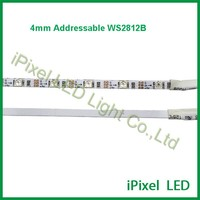 iPixel 4mm digital 5050 programmable flexible rgb ws2812b led strip