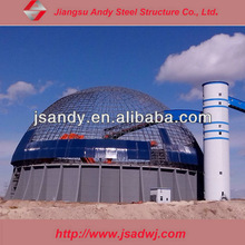 steel structure coal storage warehouse