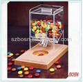 CE approved High transparent hot sale acrylic mini candy box for sale