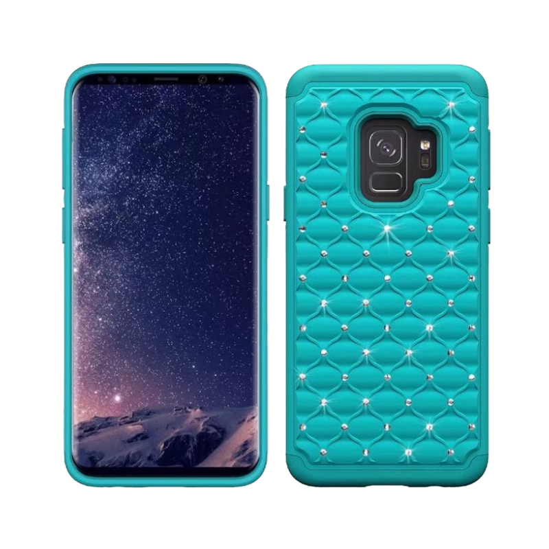 rhinestone phone cover for samsung s9 pc silicone phone case for galaxy s9 plus