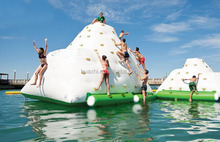 Great inflatable ocean water toy iceberg climbing wall for water park