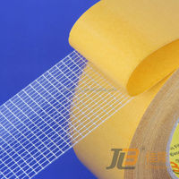 Tape strapping adhesive double side fiberglass mesh custom wholesale