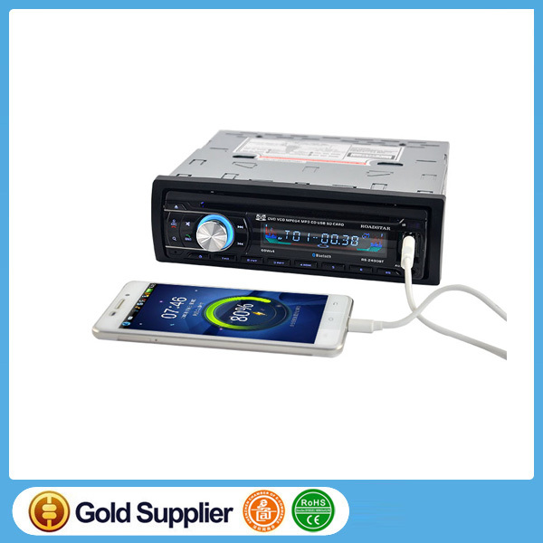 Car Audio Stereo Bluetooth DVD/CD/MP3 Cassette Player for Cars FM Auto Radios 1 din Remote Control 12V Automotive CD Player