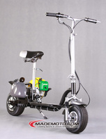Best selling foldable 2 wheel 49cc gas scooter