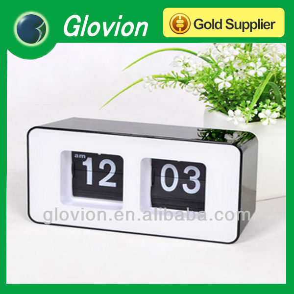 Fashion automatic calendar clock digital clocks for sale mechanical calendar clock
