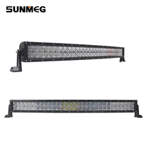 "super bright led lighting bar for trucks 31.5"" 180w light bar with spot flood combo beam"