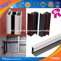 Factory wholesale Excellent Service Reliable Commercial extruded aluminum window frames, Aluminum Sliding Window Frame
