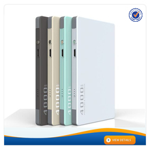 AWC621 Mobile Phones with 4000mah Battery 7.8mm Super Slim Power Bank For iphone 6 Charger