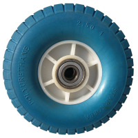 Super elasticity anti slip and abrasion resistant mute bearing solid tire