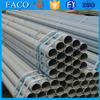 steel structure building materials ! quality welding gi tubes galvanized steel water pipe specification