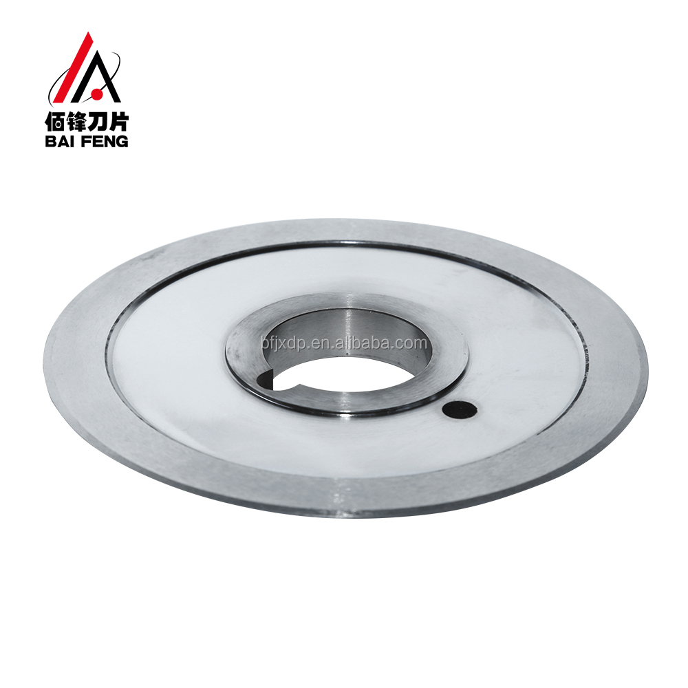 Stainless Steel Thin Tube Cutting Blade For Cutting Abrasive Cloth