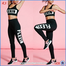 2015 fashion women custom full length leggings fitness pants