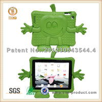 Kids Partner Lovely Standing EVA Doll Cartoon EVA stand case for ipad2 3 4
