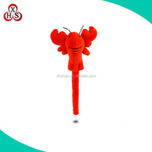 custom plush pen lobster stuffed toys pen in top quality
