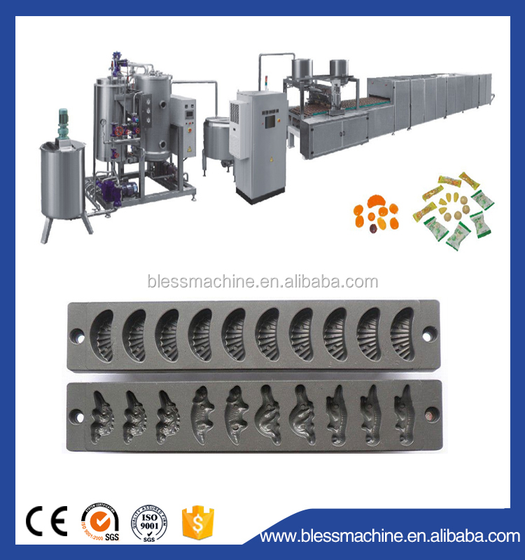 2017 Professional manufacturer gummy candy making machine with Alibaba trade assurance