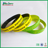 personalized spray paint Two layer Silicone Bracelet