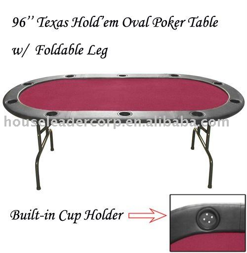 "96"" Poker Table Dimension"