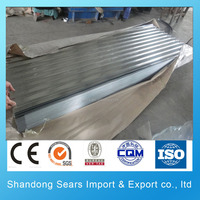 DC52D+Z(St04Z) galvanized corrugated metal roofing sheet for shed fiber cement corrugated roofing sheet
