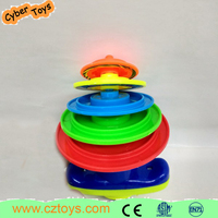 Hot plastic cheap spinning top toy for kids