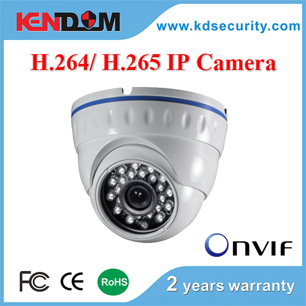 HD Megapiexl 1080p 2MP/ 3MP/ 4MP H.265 IP Camera CCTV Security Surveillance Dome matched H.265 DVR with CE, FCC, RoHS