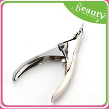 New keychain ,h0twp stainless steel false nail cutter for sale