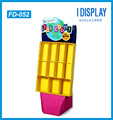 customized cardboard book display kiosk book display stand