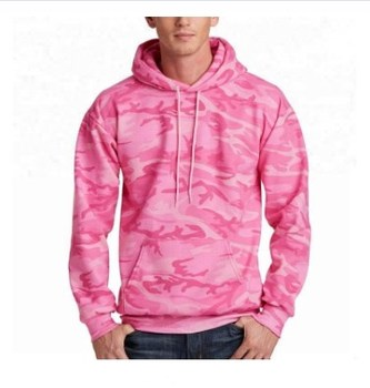 OEM Service Camo Hoodie Custom Logo Fleece Pink Mens Camo Hoodie With Hood breathable oversized clothing