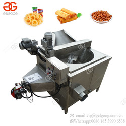 Commercial Continuous Fish Chicken Wing Garri Frying Making Apple Banana Potato Chips Fryer Machine Price