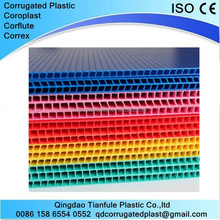 Wholesale colored acrylic corrugated plastic sheets 4x8