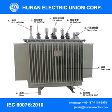 75 150 225 250 350 400kva three phase pole mounted oilimmersed distribution transformer
