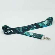 Lanyard puch for mobile phone with heat transfer printing & sample and design free