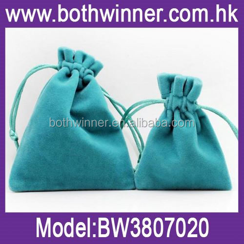 nice drawstring velvet pouch ,H0T087 satin fabric wraps satin pull cords jewelry pouches