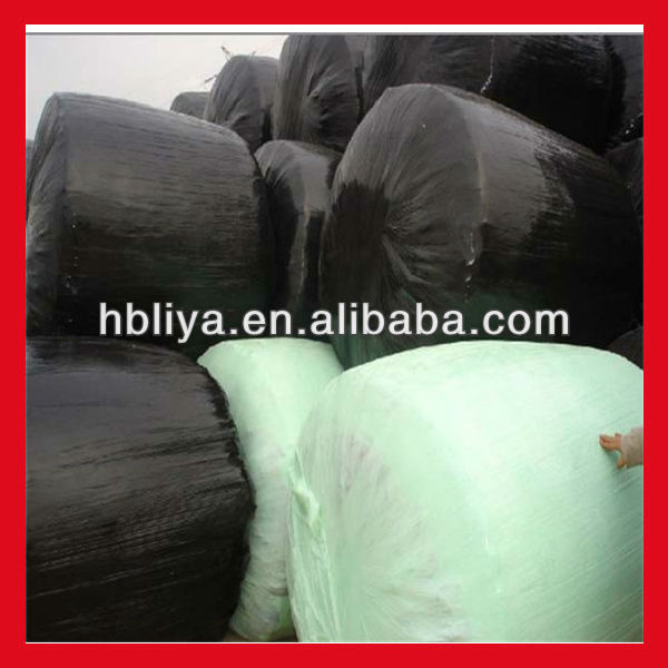 Agricultural stretch plastic silage black hdpe film wrap