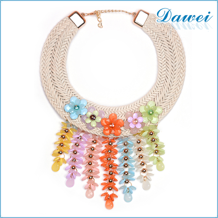 Handmade Collar Big Bead Design Neckalce, Handmade Necklace From Yiwu