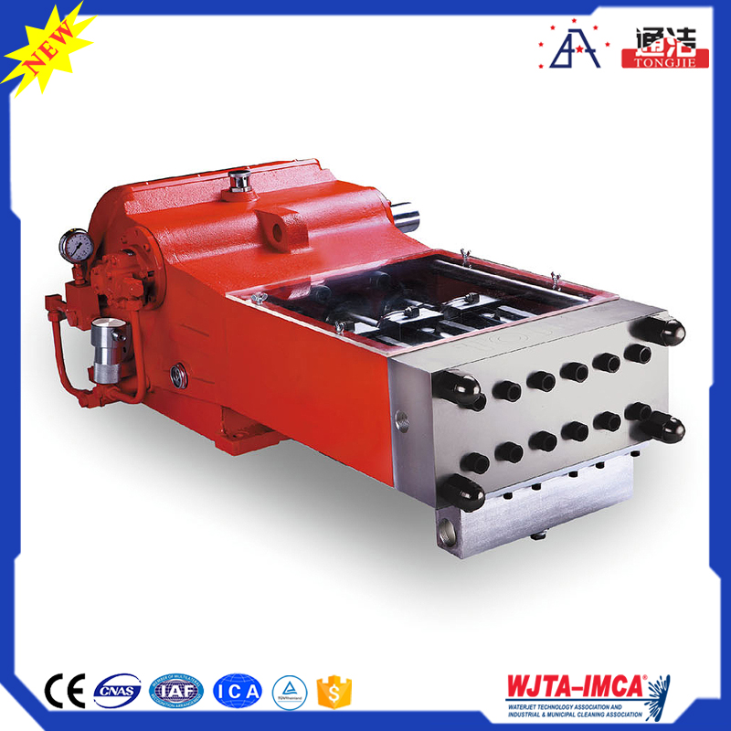 Easy operation high-tech product to clean ship industry 20000PSI water jet pump price