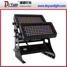 China outdoor lights led city color 96x10w rgbw led wall washer