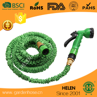 2016 Color box packing expandable garden pocket hose/Blue Stretch Hose/collapsible water hose