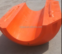 Orange Rotational Molding Plastic Buoy Floating pontoon